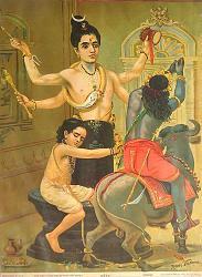 Нажмите на изображение для увеличения.  Название:Raja_Ravi_Varma,_Markandeya.jpg Просмотров:0 Размер:76.8 Кб ID:18283